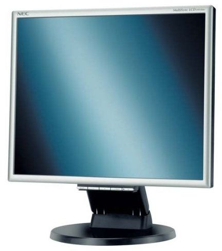 NEC LCD 195 VXM+ monitor TFT LCD o przekątnej 48,3 cm (19 cali) (kontrast 550:1, czas reakcji 8 ms) srebrny