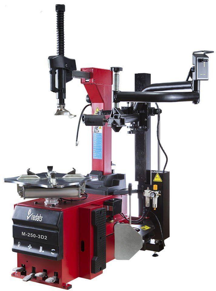 Montażownica Automatyczna do kół z Ramieniem REDATS M-250-3D-2