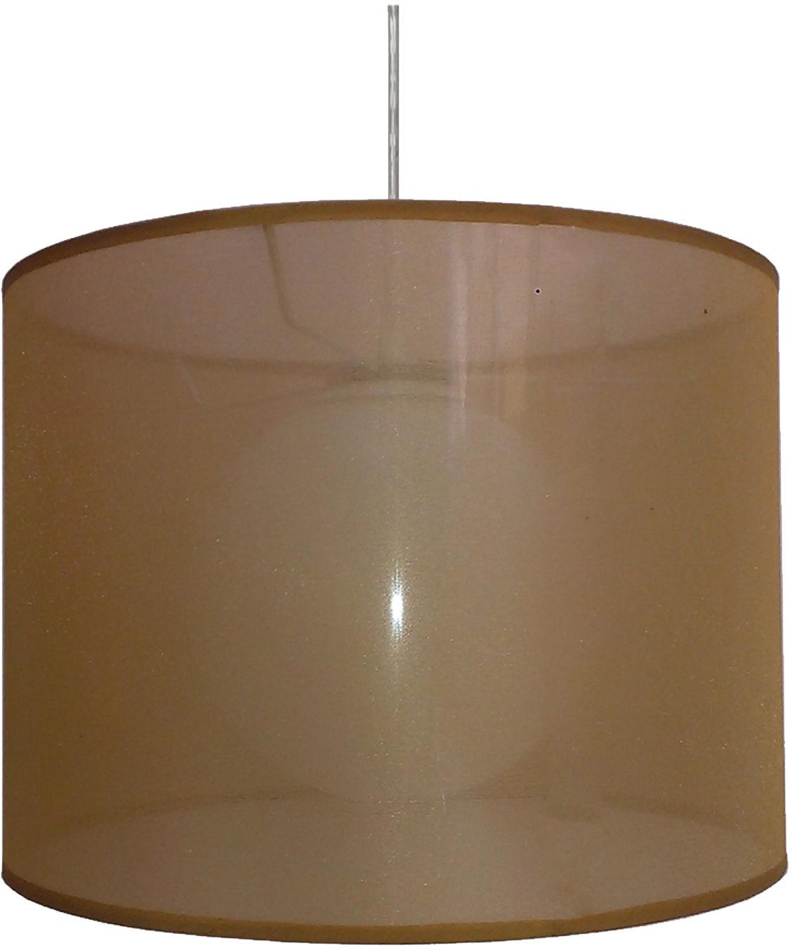 Candellux CHICAGO 31-24893 lampa wisząca abażur złoty szklana kula 1X60W E27 35cm