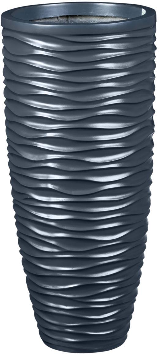 Donica z włókna szklanego D7087D antracyt mat