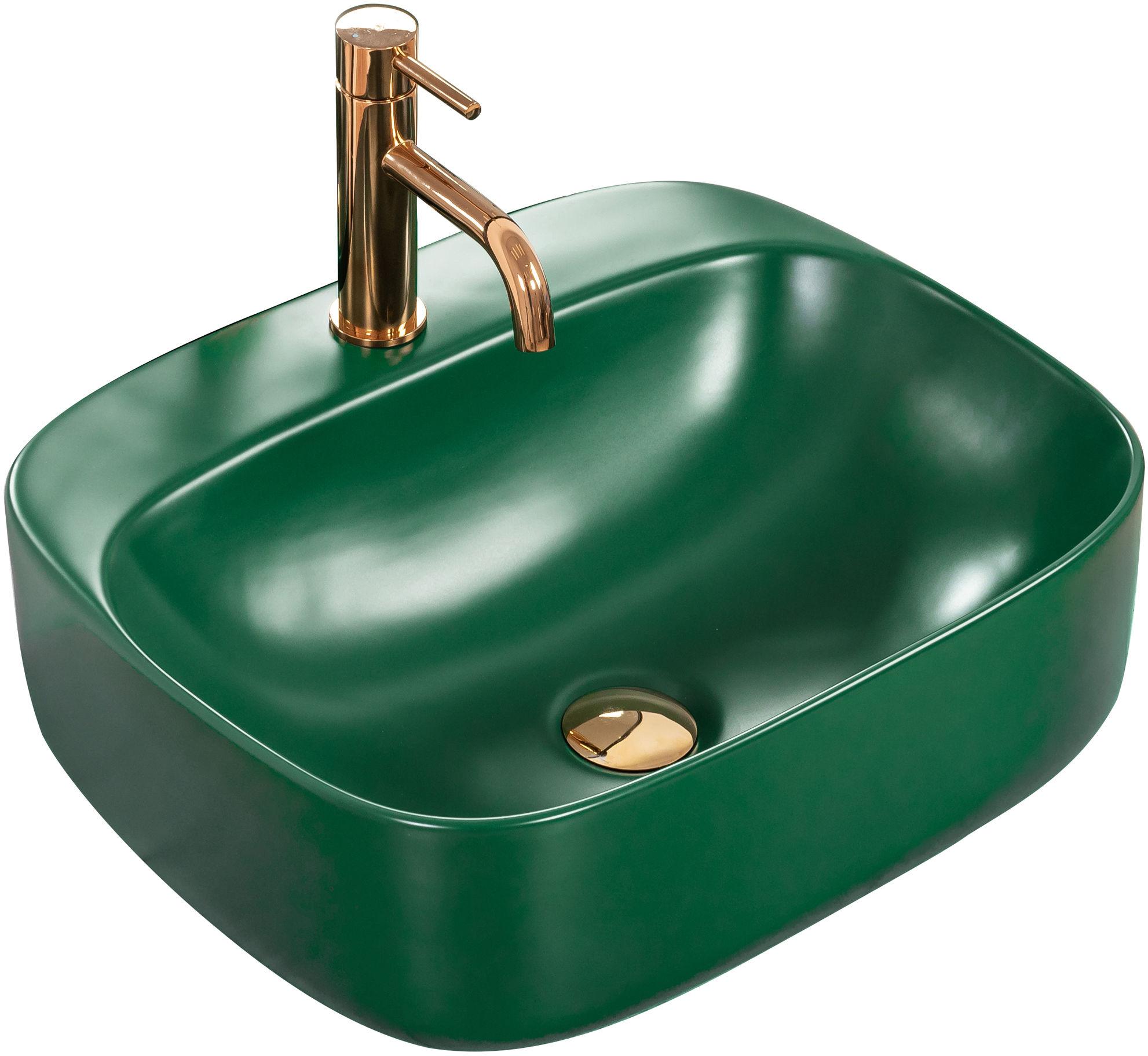 Rea Umywalka nablatowa Rea Luiza 50 Green MAT