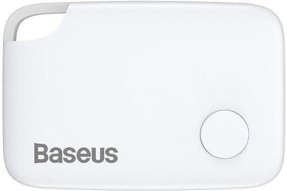 Lokalizator Bluetooth Baseus T2 ze smyczą (biały)