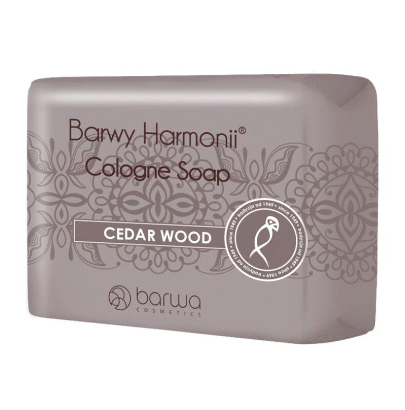 BARWA - BARWY HARMONII - Cologne Soap - CEDAR WOOD - Cedrowe mydło w kostce
