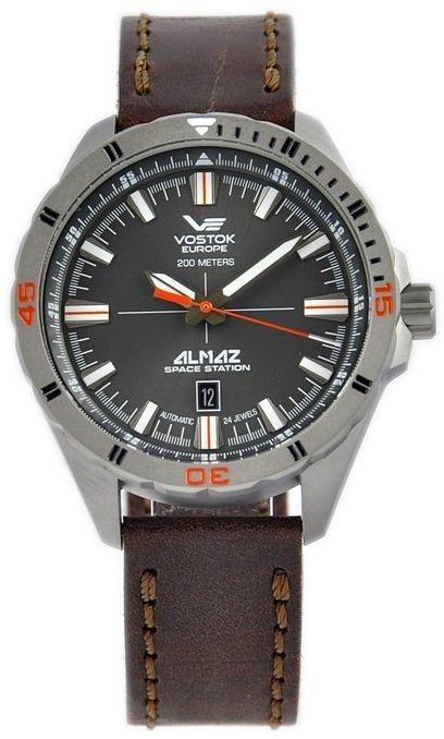 Zegarek Vostok Europe NH35A-320H263 Almaz Titanium Automatic - CENA DO NEGOCJACJI - DOSTAWA DHL GRATIS, KUPUJ BEZ RYZYKA - 100 dni na zwrot, możliwość wygrawerowania dowolnego tekstu.