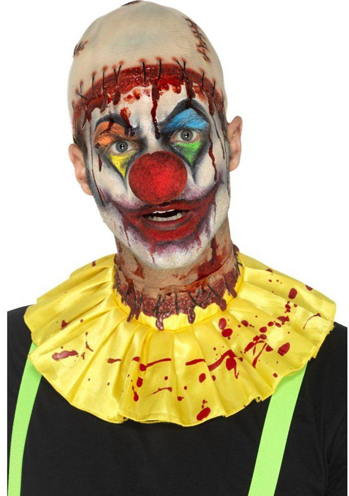 Smiffys Lateksowy przerażający klaun natychmiastowy zestaw
