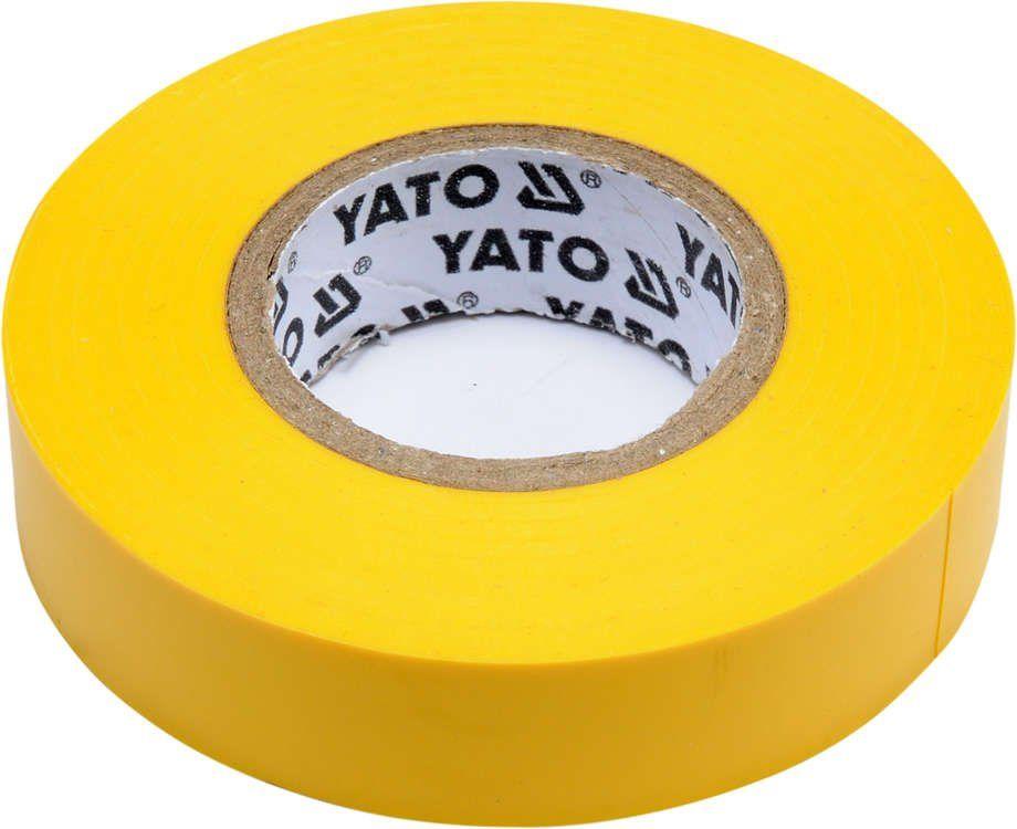 Taśma elektroizolacyjna 15mmx20mx0,13mm; żółta Yato YT-81594 - ZYSKAJ RABAT 30 ZŁ