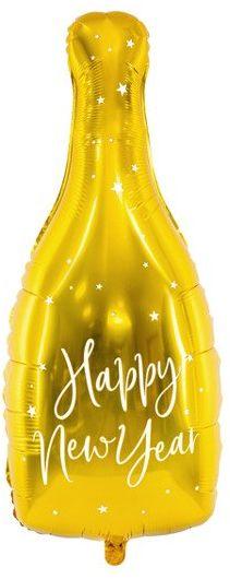 Balon foliowy Butelka szampana złota 82cm FB54M-019