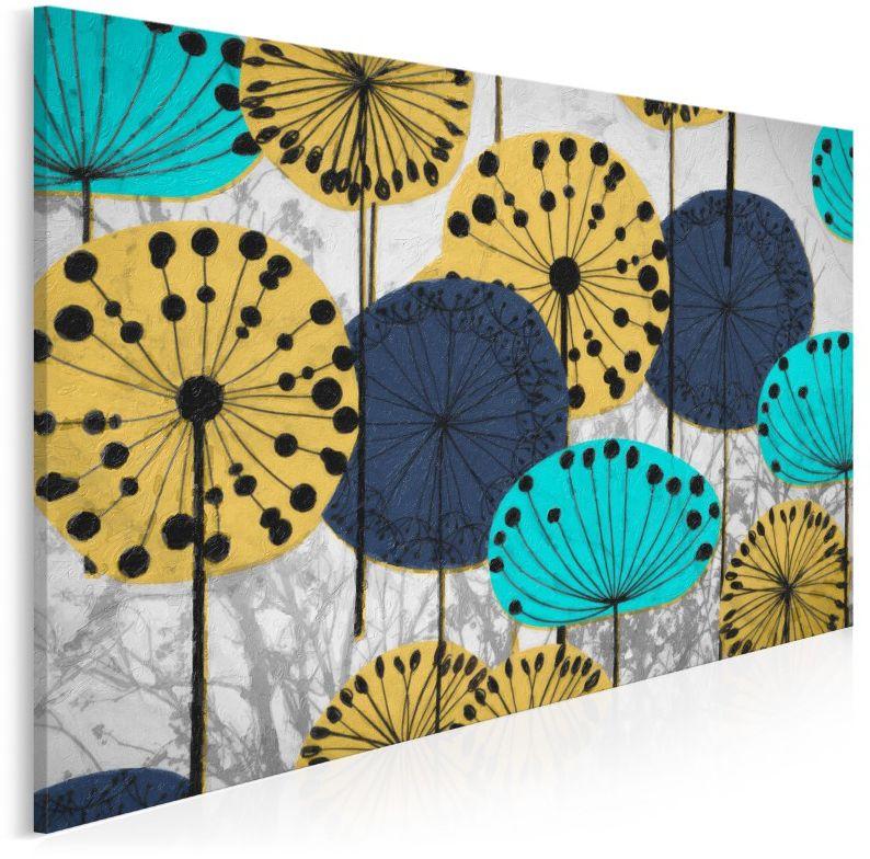 Eufloria - nowoczesny obraz na płótnie - 120x80 cm