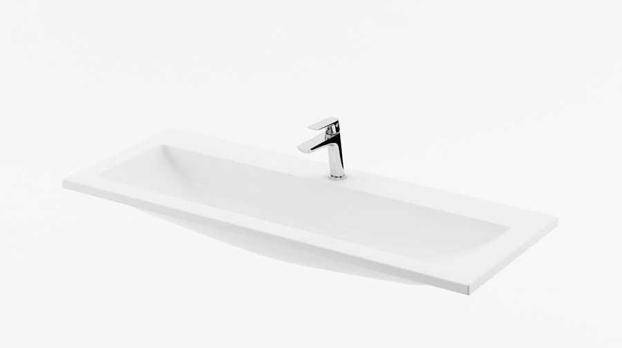 Ravak umywalka 1000 Clear z otworami XJJ01110000