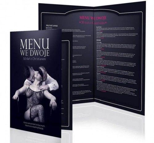 Karta menu dla dwojga - pięćdziesiąt dań z Christianem