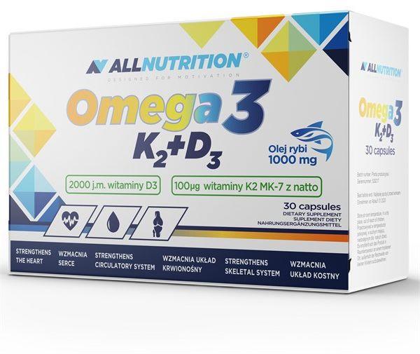 Omega 3 K2 D3 30 Softgeles