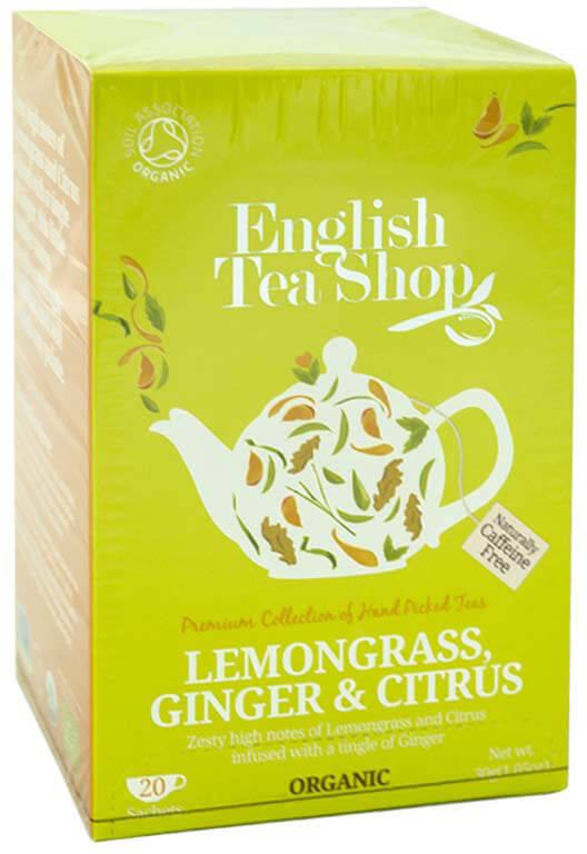 ETS Lemongrass Ginger and Citrus 20 saszetek