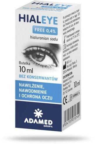 Hialeye Free 0,4% krople do oczu 10 ml