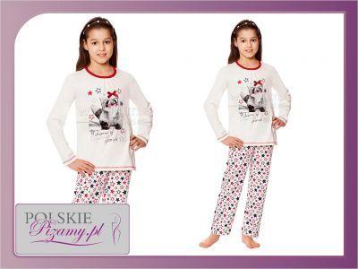Piżama dziecięca WIKI: biel