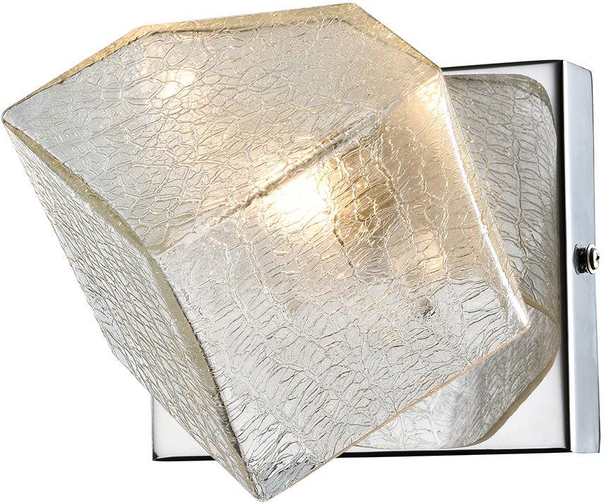 Italux kinkiet lampa ścienna Zen MB13026003-1A chrom szkło