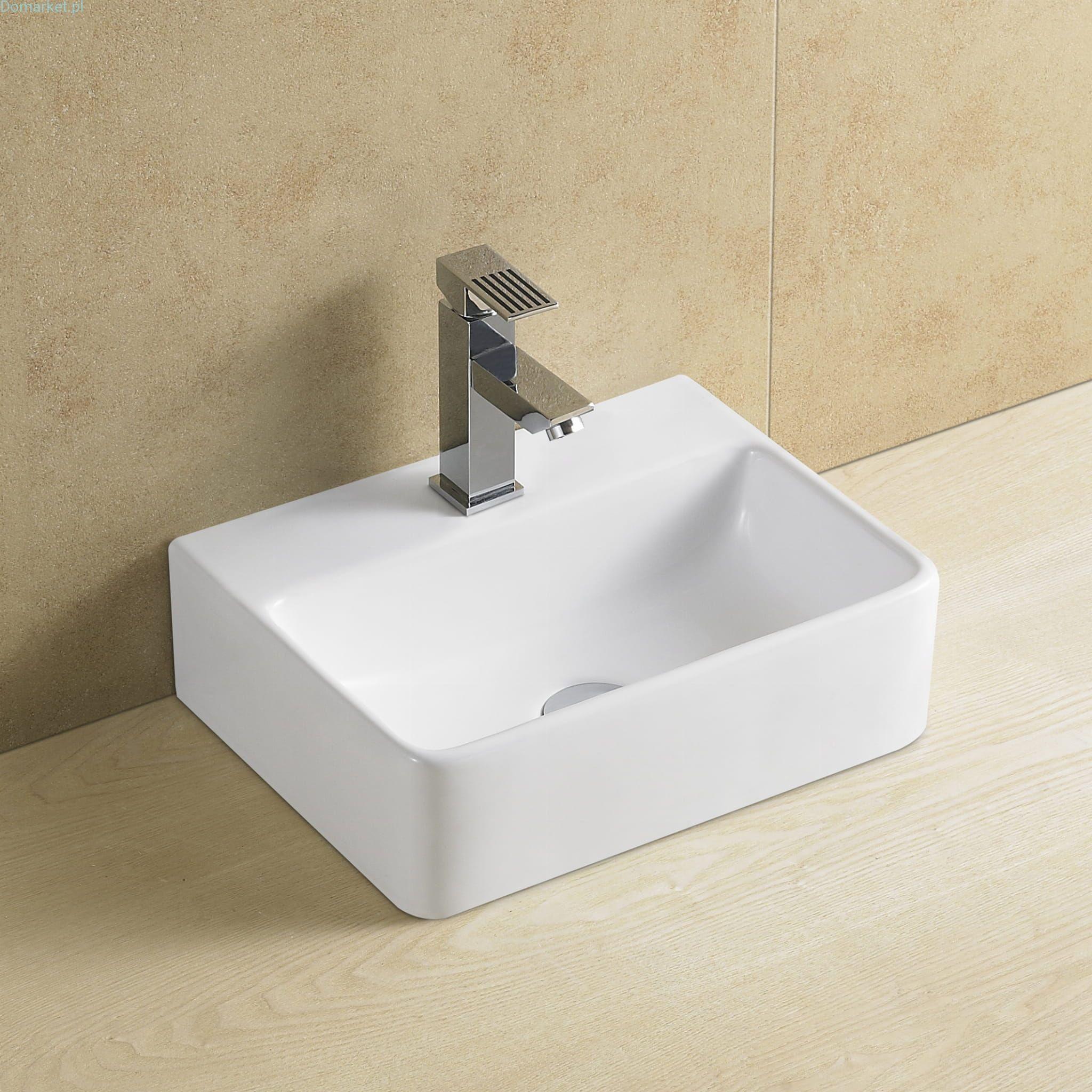 C911 Biała Umywalka Ceramiczna 60cm
