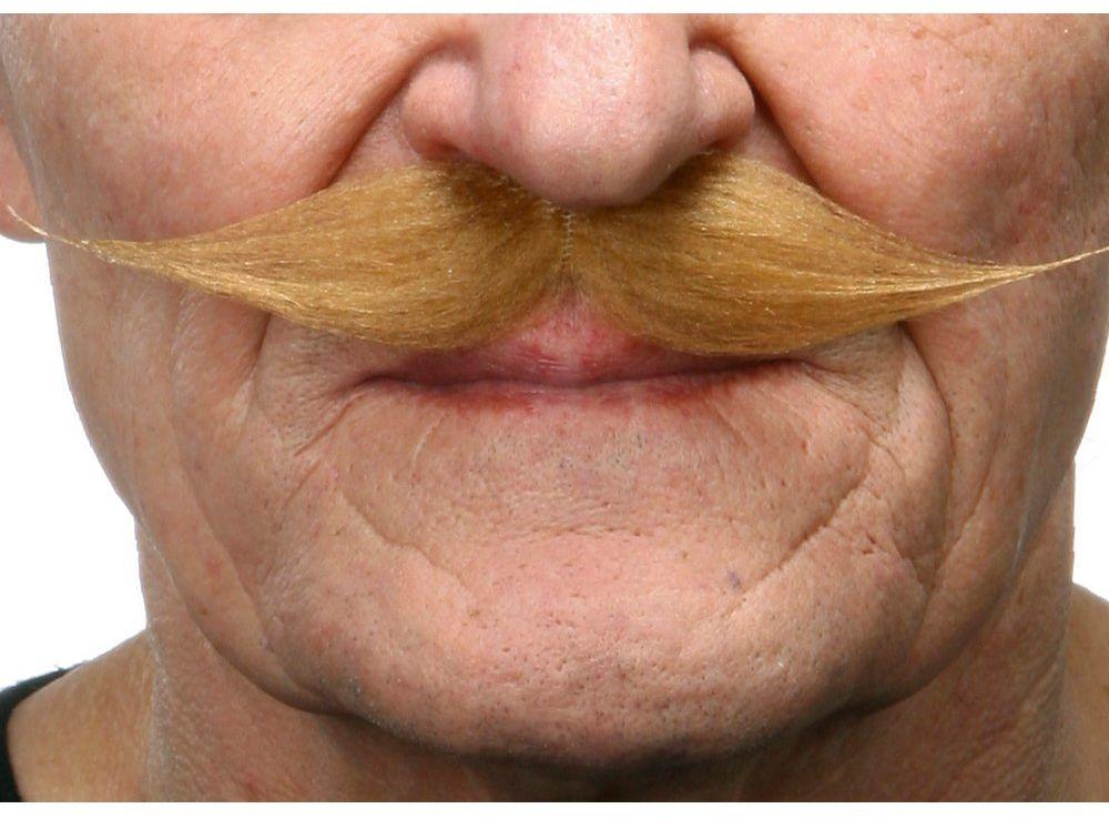 Żywe kostiumy 202829 wąsy, wielokolorowe, jeden rozmiar