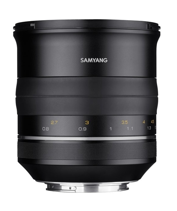 Samyang XP 85mm F1.2 - obiektyw stałoogniskowy do Canon EF Samyang XP 85mm F1.2