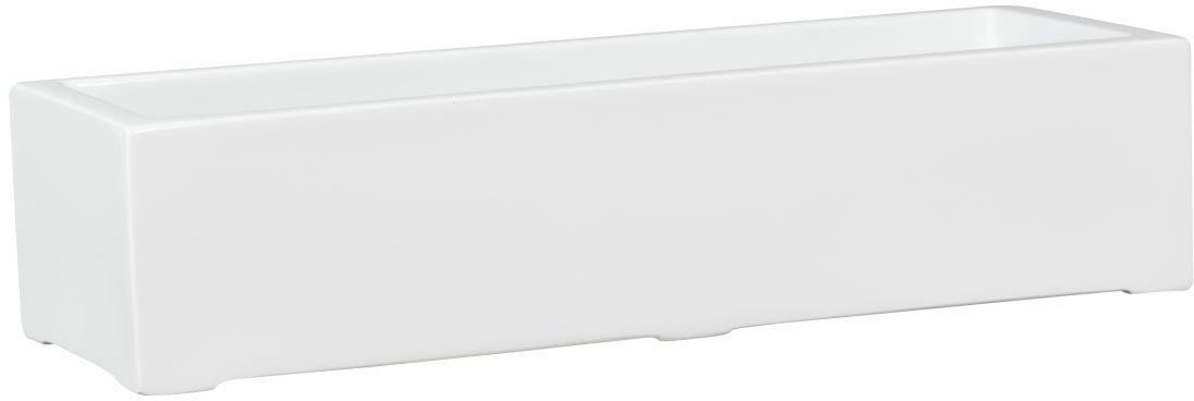Donica z włókna szklanego D972S biały połysk
