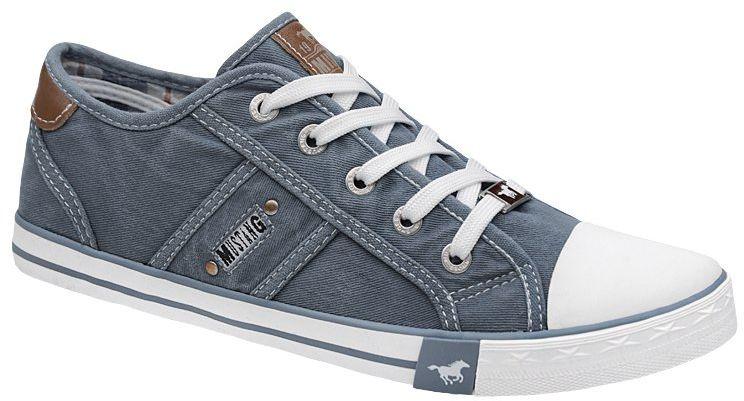 Trampki MUSTANG 42C0023 Błękitny Jeans 1099-302-807 HimmelBlau - Błękitny Jeans