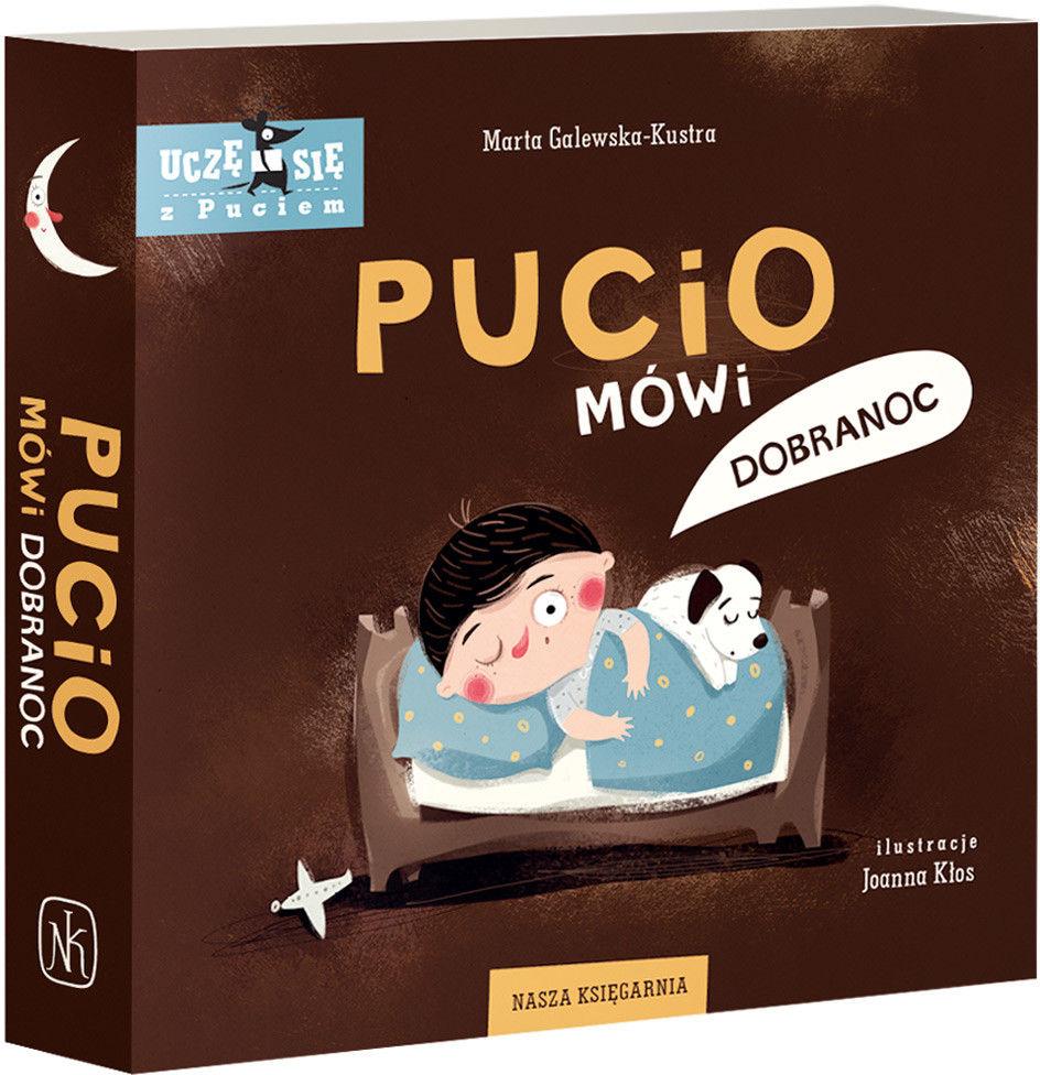 Nasza Księgarnia - Pucio mówi dobranoc