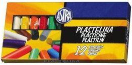 Plastelina 12 kolorów ASTRA /303115007/