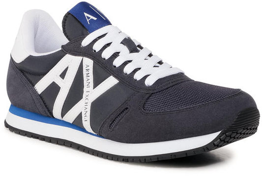 Armani Exchange Sneakersy XUX017 XCC68 K487 Granatowy