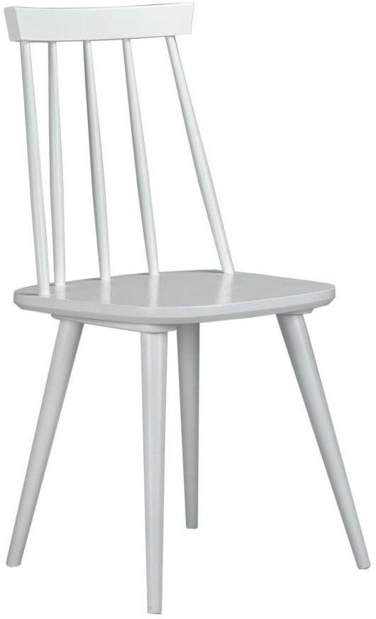 Krzesło kuchenne Lily białe Domino