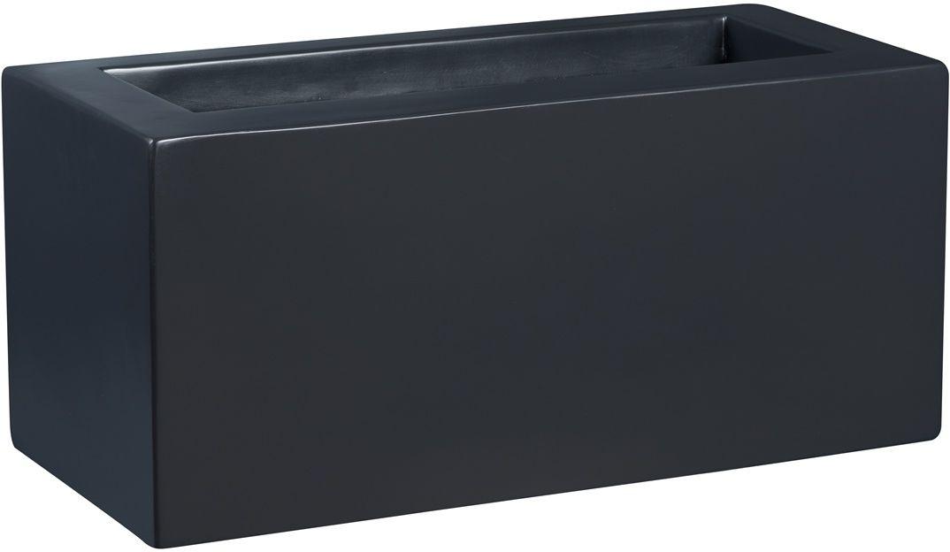 Donica z włókna szklanego D734B antracyt mat