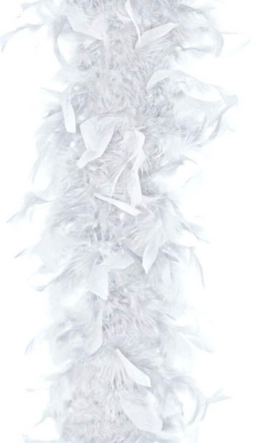 Boa - białe - 180 cm.