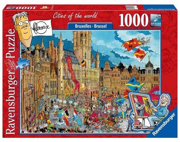 Puzzle Ravensburger 1000 - Fleroux - Bruksela, Brussel
