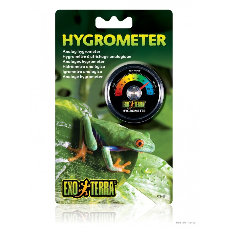 Exo-Terra Higrometr analogowy do terrariów Hygrometer