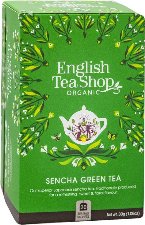 ETS Green Sencha 20 saszetek