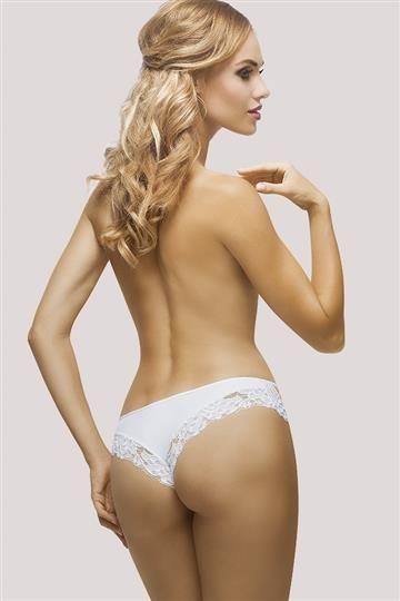 Shorto-stringi Karioka Białe