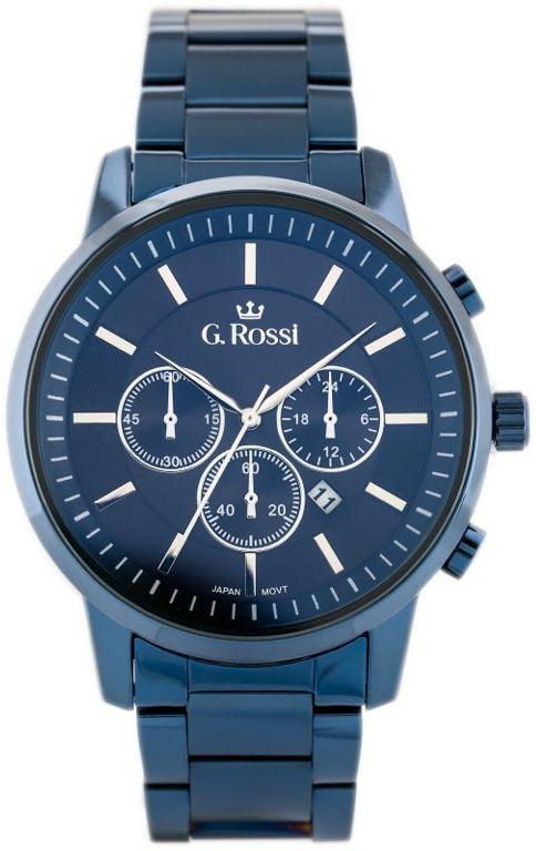 ZEGAREK G.Rossi - 6647B (zg201f) + BOX
