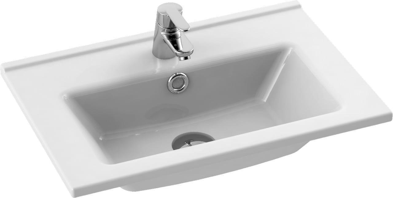 CeraStyle umywalka Arte, 55 cm 067200-u