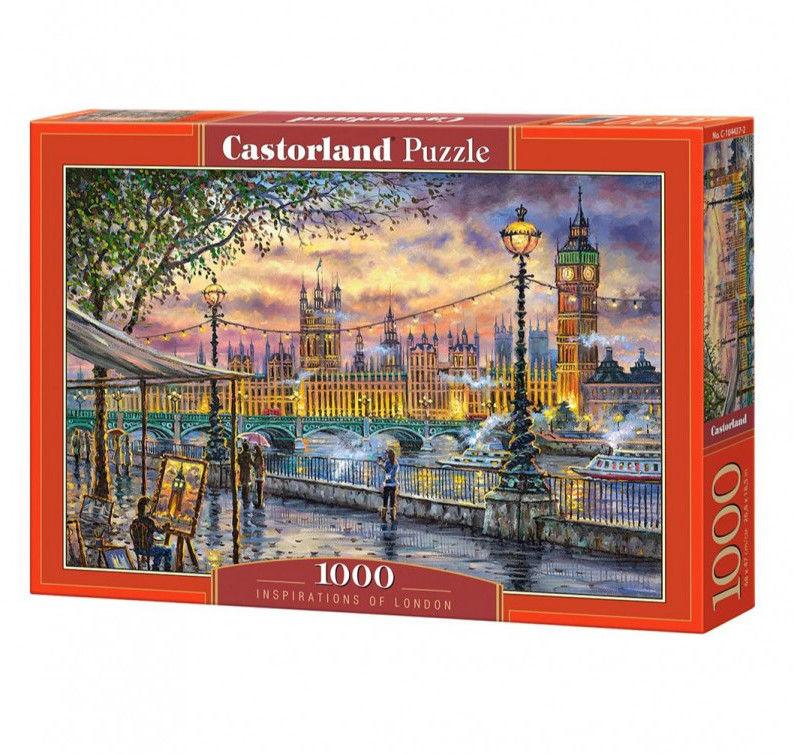 Puzzle Castor 1000 - Inspiracje z Londynu, Inspirations of London