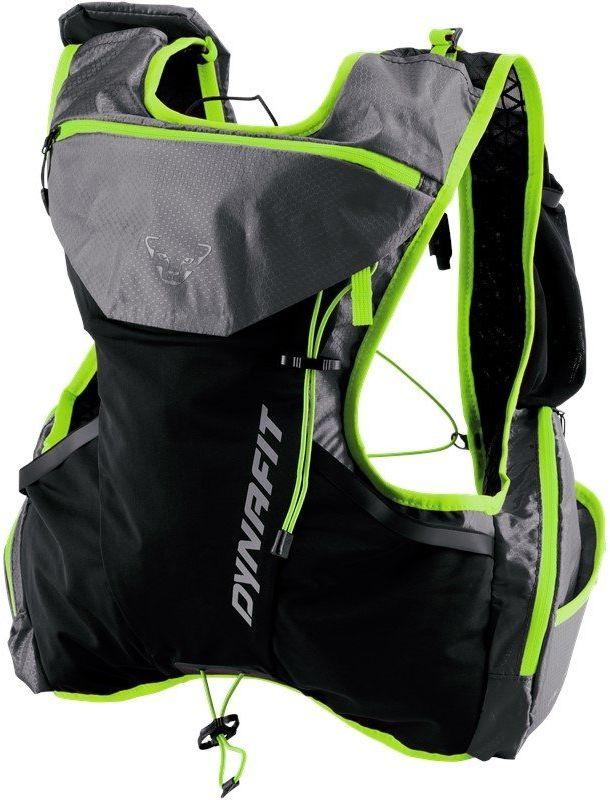 Plecak biegowy Dynafit Alpine 9 - 0732/magnet/fluo yellow - Szary Czarny