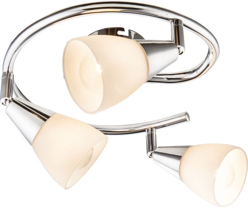 Globo TADEUS 54919-3 plafon lampa sufitowa chrom spot 3xE14 40W 47,5cm