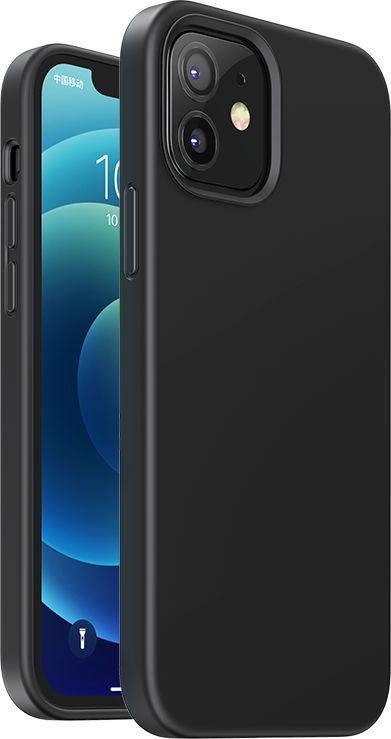Ugreen Protective Silicone Case gumowe elastyczne silikonowe etui pokrowiec iPhone 12 mini czarny