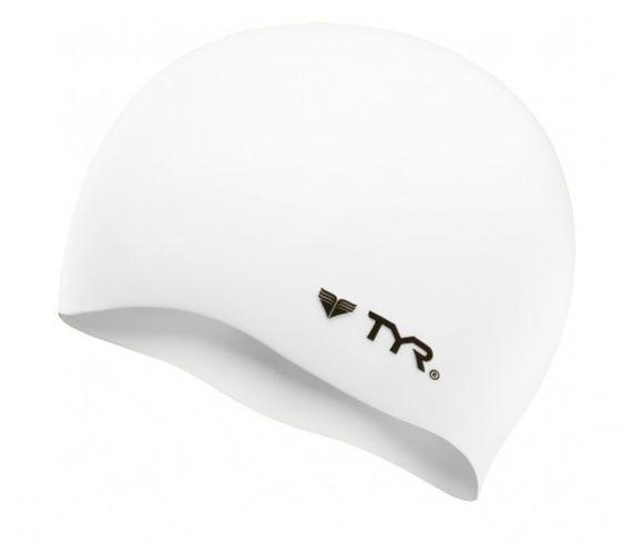 Tyr silicone cap biały