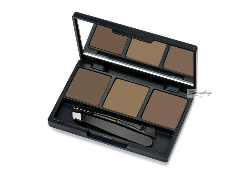 Golden Rose - Eyebrow Styling Kit - Zestaw do stylizacji brwi - 02 ASH