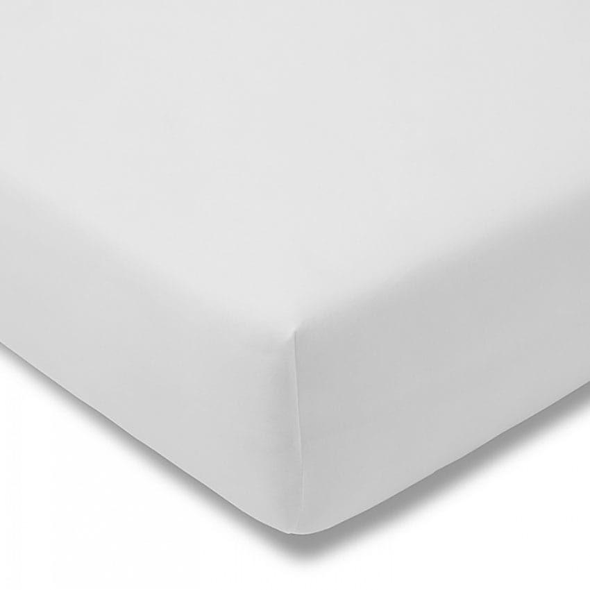 Prześcieradło Jersey 60x120 z gumką do łóżeczka białe