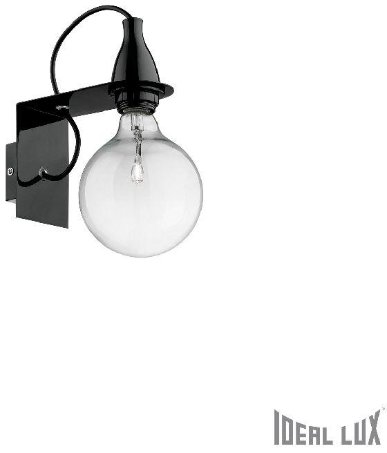 MINIMAL NERO AP1 Lampa ścienna