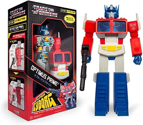 SUPER7 Transformers Super Cyborg Optimus Prime, SU-GOO-01