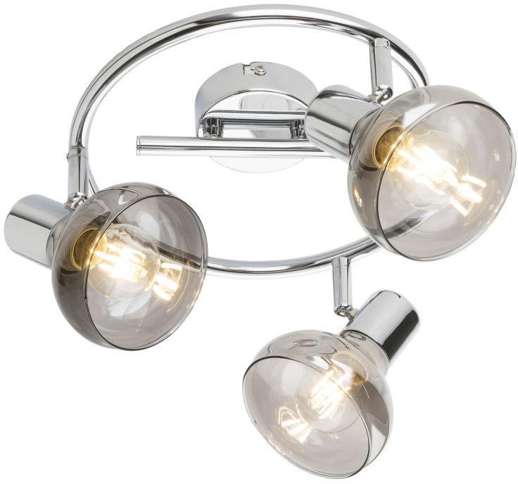 Globo LOTHAR 54921-3 plafon lampa sufitowa chrom 3xE14 40W 25cm