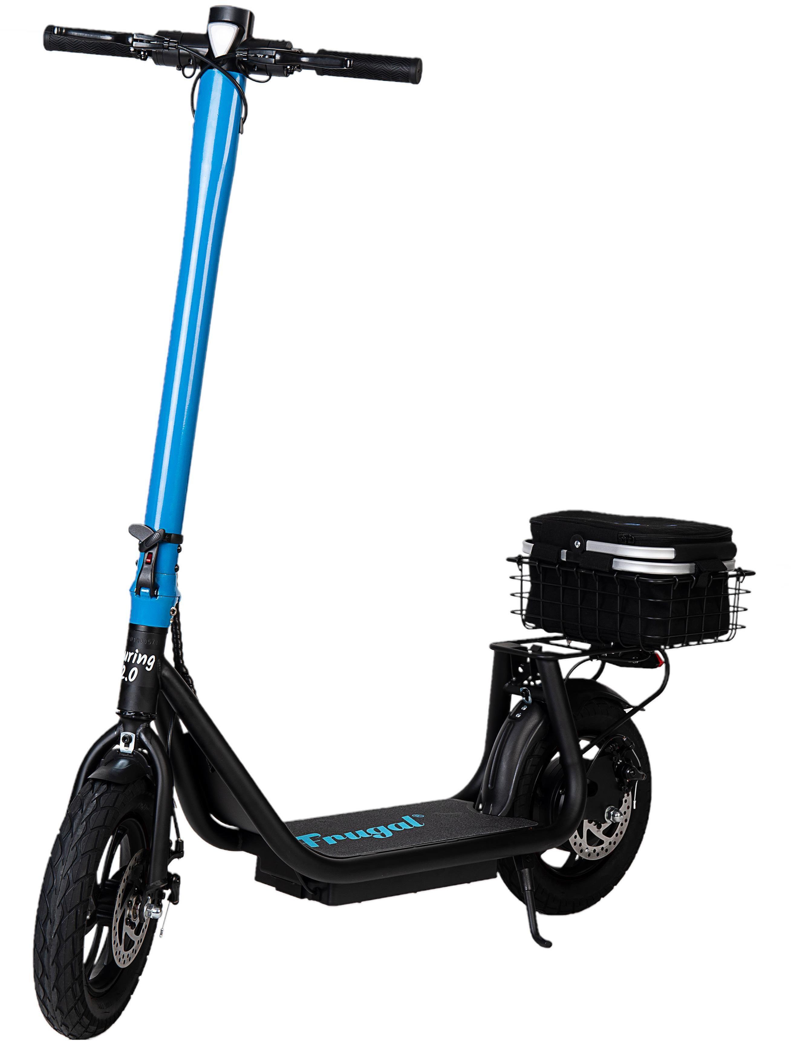 Hulajnoga elektryczna FRUGAL TOURING 2.0 /niebiesko-czarna/