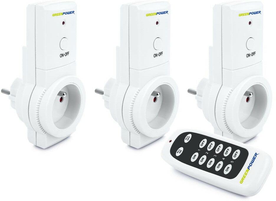 Gniazdo WiFi Smart Plug z gnizazdami USB - Green Power