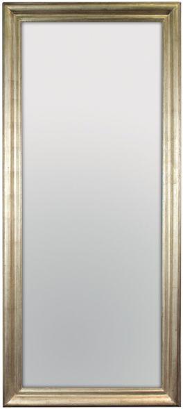 Vintage Silver Lustro ścienne 80x180