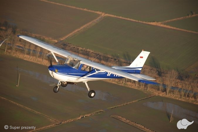 Lot samolotem z widokiem na Trójmiasto
